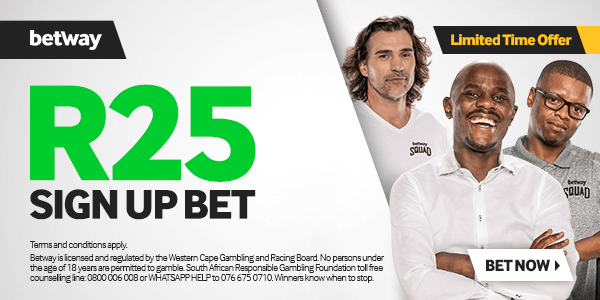 betway r25 sign up free bet